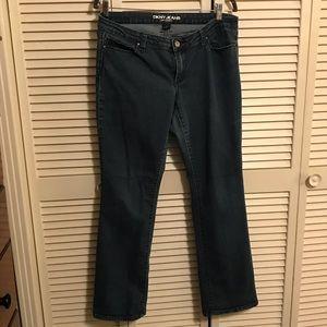 DKNY Slim Curvy Boot Cut Jeans